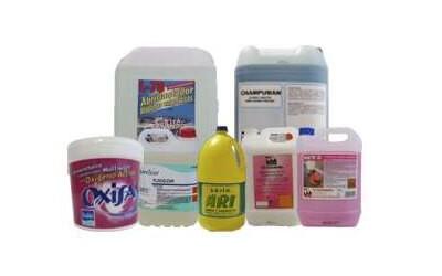 Productos químicos de limpieza